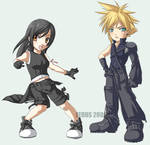 Cloud + Tifa kids