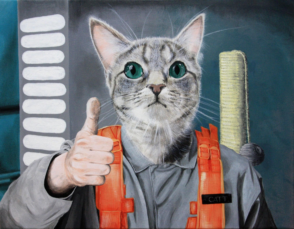 Catt the Radar Technician by John-D-Salvatore