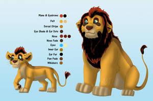 Lion Auction With Cub Version