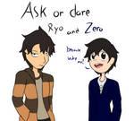 Ask or dare Ryo and Zero
