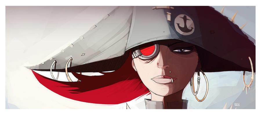 Captain Scarlett by Ben-Olive