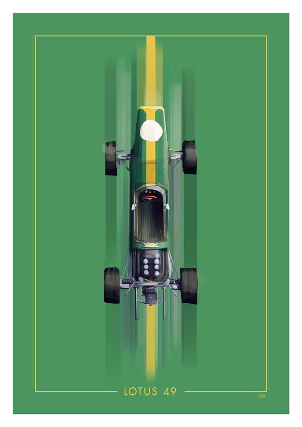 Lotus 49 by Ben-Olive