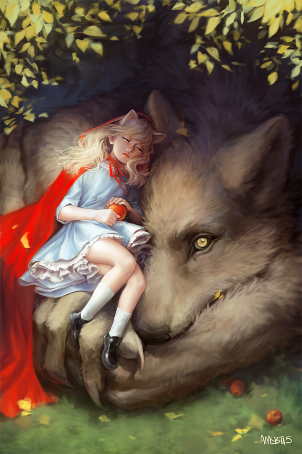 Red and Wolf by AMSBT