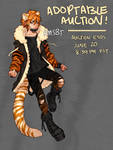 [CLOSED] Street Tiger - ADOPTABLE AUCTION