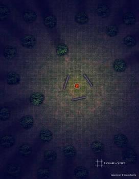 Campfire Battle Map