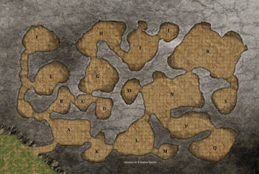 Cave Map by simetradon