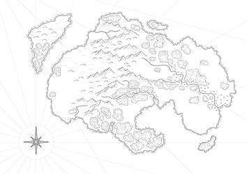 Quick Vector Fantasy Islands by simetradon