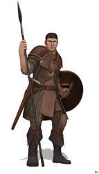 Warrior by Tanatalus