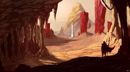 Landscape - Desert by Tanatalus