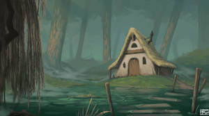 Witch hut by Tanatalus