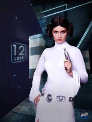 Princess Leia Organa by Snusmumrik