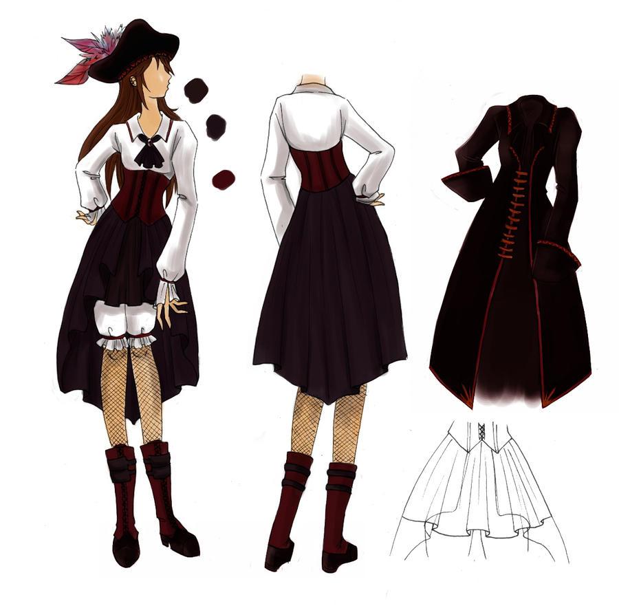 Pirate Dress Design Contest By Ceylen On Deviantart