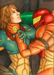Metroid Fusion: Samus vs. SA-X