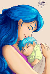 Grimmjow's mom by Kathyana