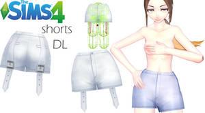 [MMD  PMX  DL  TS4] - Shorts