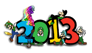 Year of Luigi by Estefanoida