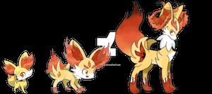 Fennekin evolutions