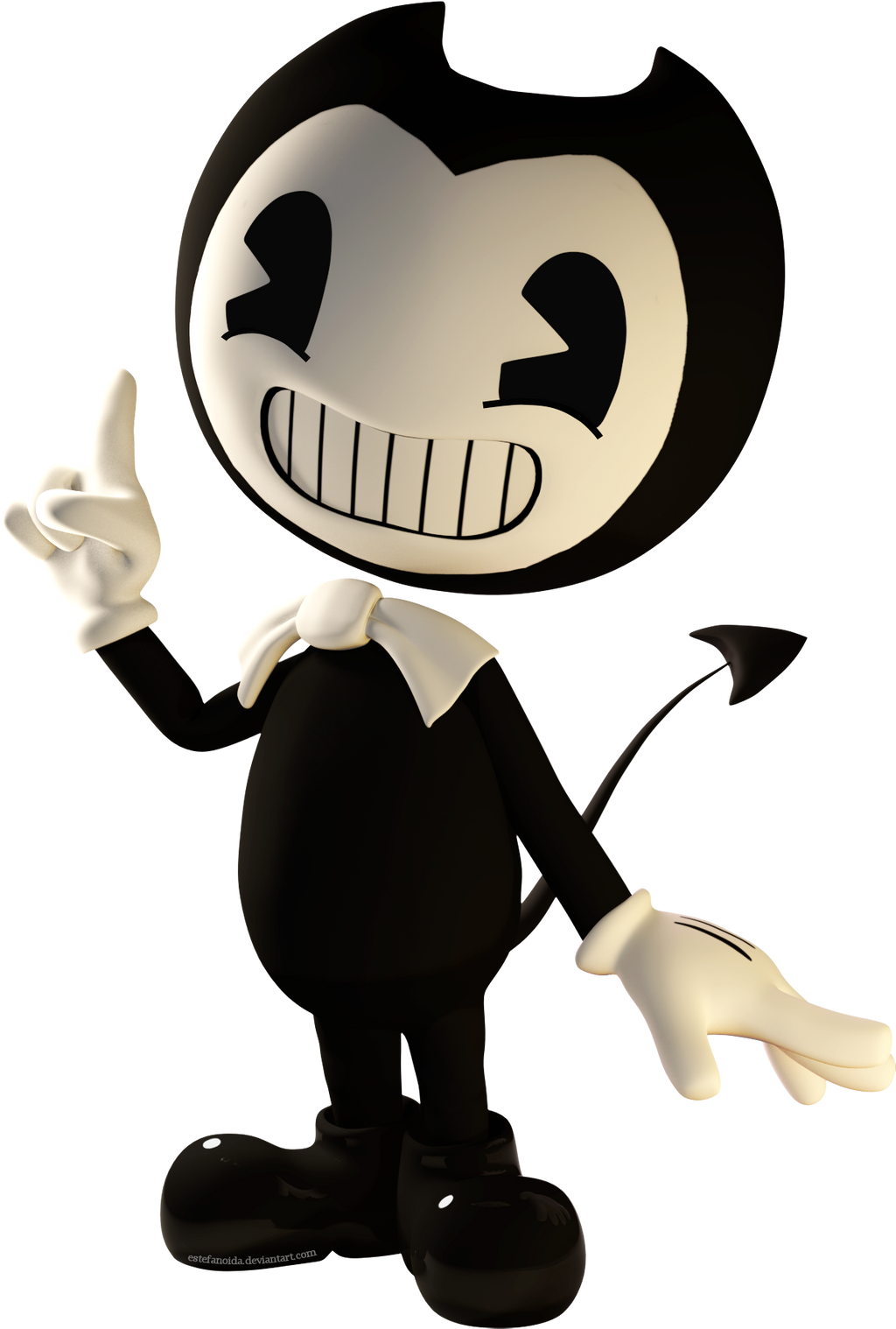 Bendy in 3D by Estefanoida on DeviantArt