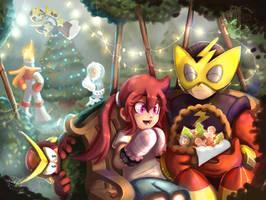 A light show Christmas - Secret Santa