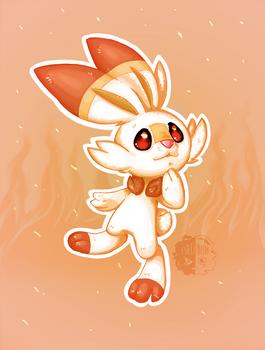 Fire Bunny