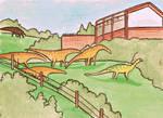 titanosaurus enclosure