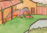 allosaurus enclosure