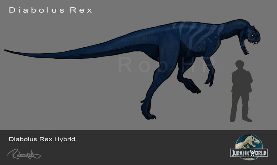 Jurassic World, Hybrid Diabolus Rex by halfpennyro04 on ...