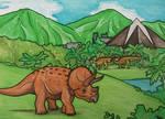 Jurassic World - Triceratops Territory