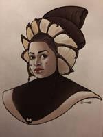 queen Jamillia by halfpennyro04