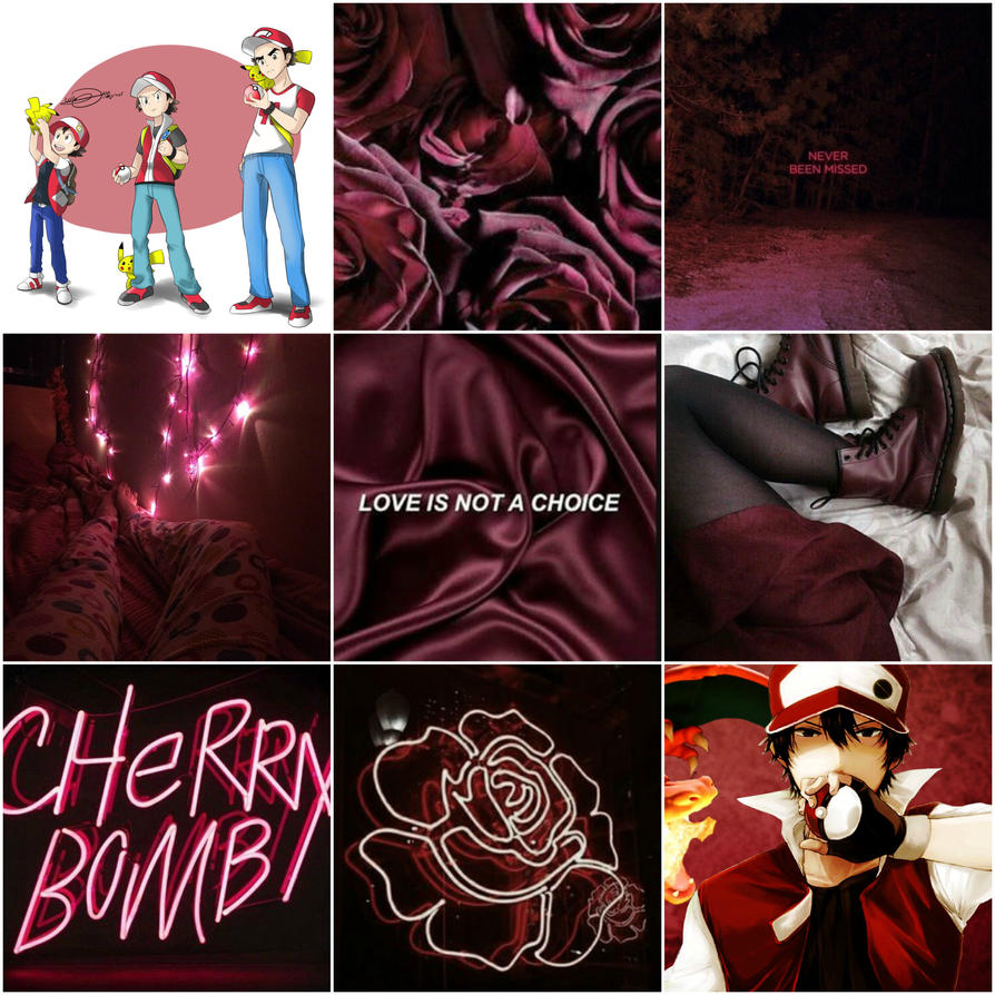 Red Maroon Aesthetic By Blackcatgurl2