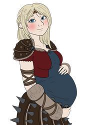 Astrid: Mother to be by soft-circles