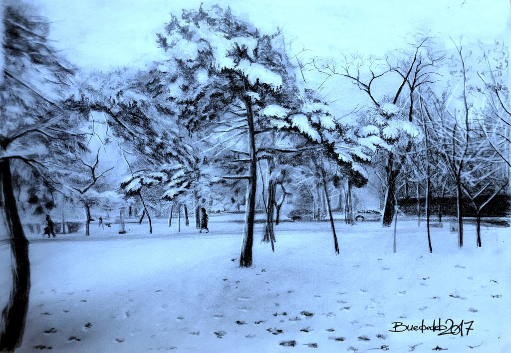 Winter is a time of hope by Vladimir12908
