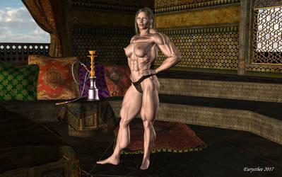 Roxane barbarian warrior princess 32 by eurysthee