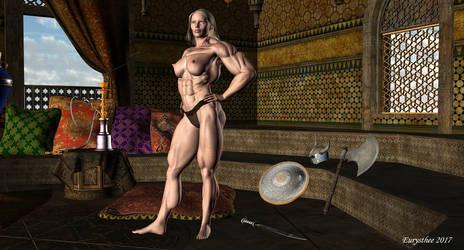 Roxane barbarian warrior princess 33 by eurysthee