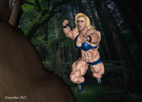 Alyson vs gorilla 02