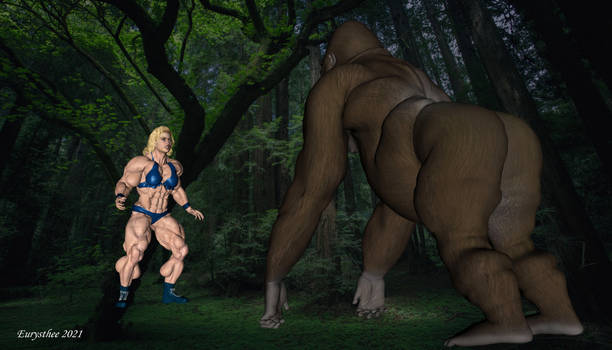 Alyson vs gorilla 01