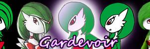 gardevoir banner by Adrastia217
