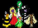pokemon group shot by Adrastia217