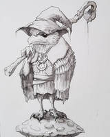 Frogmouth Kenku Druid