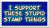 Stupid Stamp Thing by Moootle