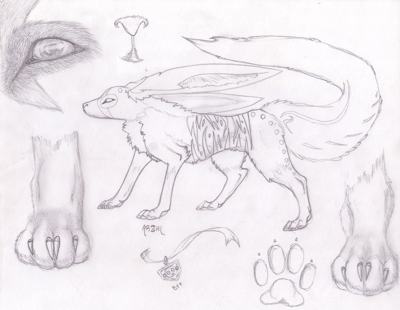 1st Markings Fox Rabbit Hybrid By Darkgreendracon