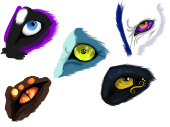 Eyes2 by Darkgreendracon