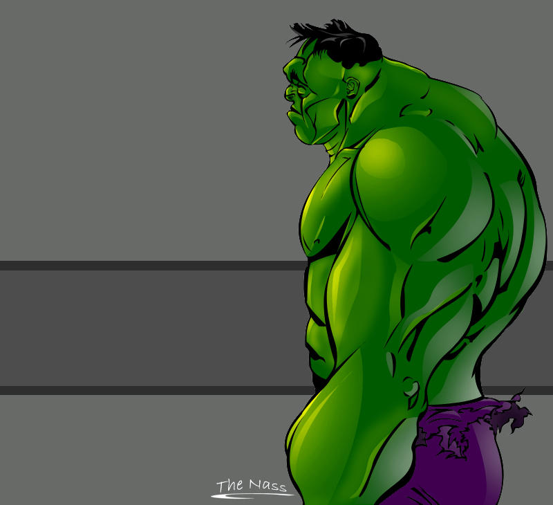 The Hulk by TheNass