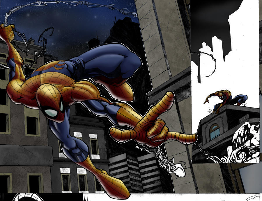 Spidey by great LP WIP 2 by TheNass