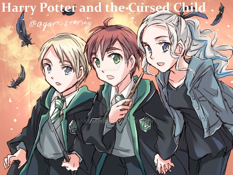 Harry Potter And The Cursed Child. by sena1923