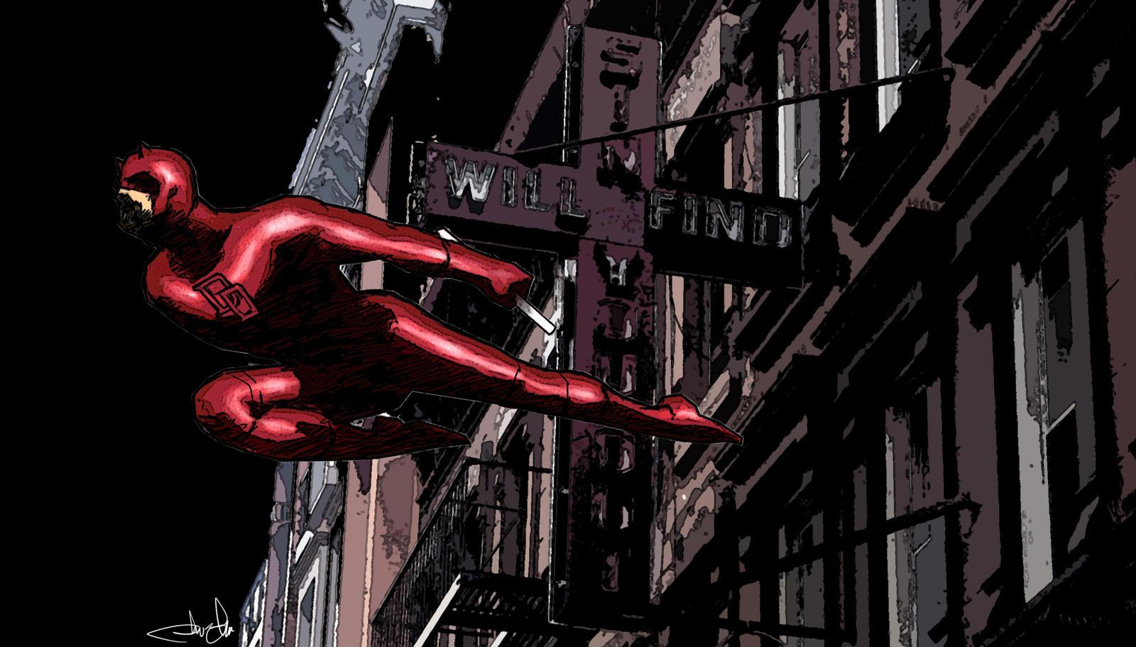 Daredevil Hell's Kitchen by JohnYandall on DeviantArt
