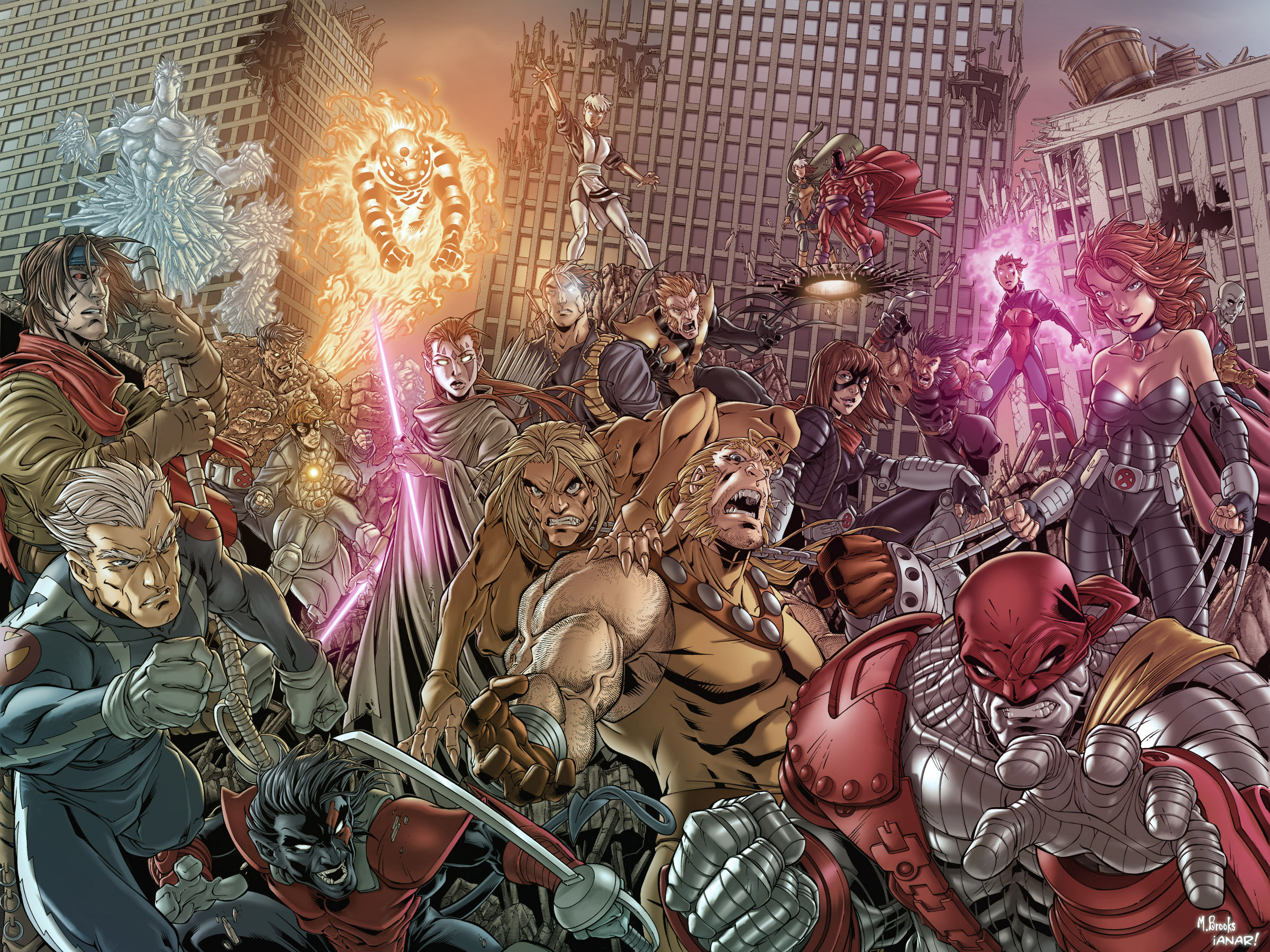 Age of Apocalypse by iANAR