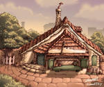 Geppetto's house exterior