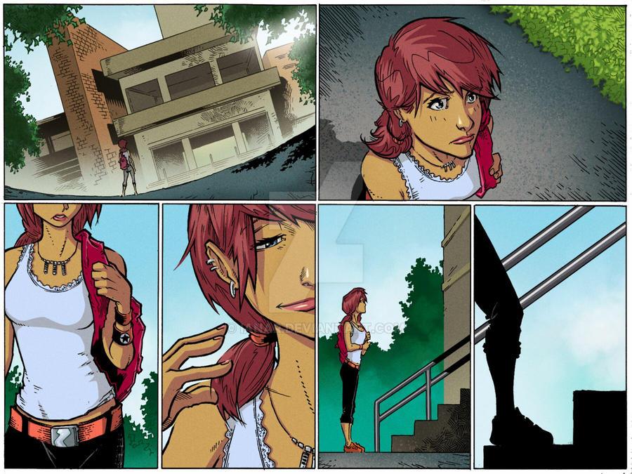 Jenny Strange page 7 by iANAR