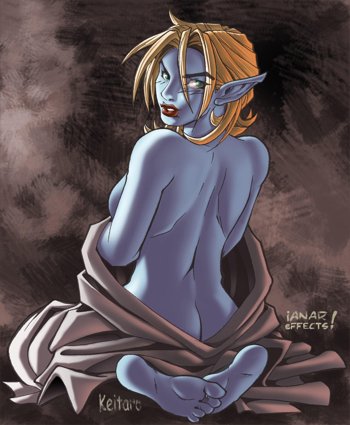 Blue Elf by iANAR